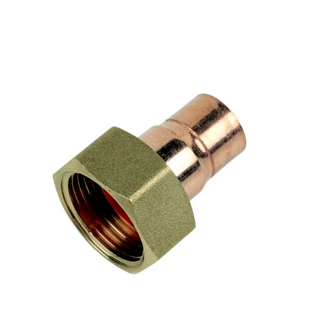 End Feed Straight Tap Connector (Dia)15 mm