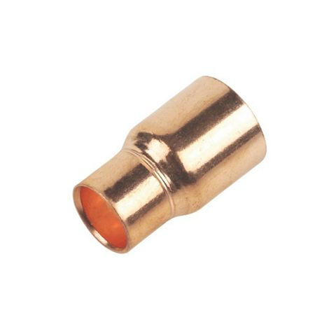 End Feed Fitting Reducers (Dia)15 mm, Pack of 2