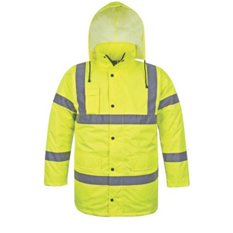Baratec Hi-Vis Motorway Jacket, Large