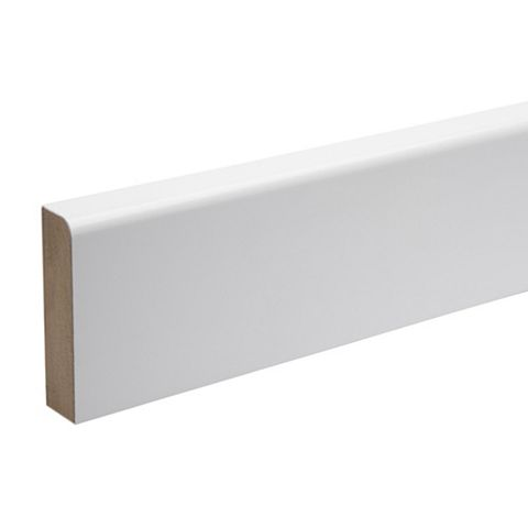 Kota White Eastman Cerfis R1A MDF Architrave, 69 x 18 x 2180mm