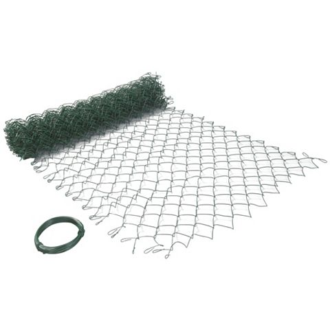 Blooma PVC Coated Steel Wire Fencing (L)10 M (W)1 M