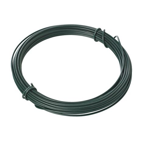 Blooma PVC Coated Steel Garden Wire (L)20 M (D)3.5 mm