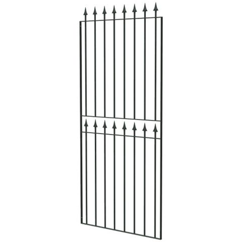 Blooma Steel Wide Gate (H)1800mm (W)810mm