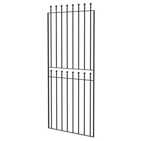 Blooma Steel Narrow Gate (H)1800mm (W)770mm