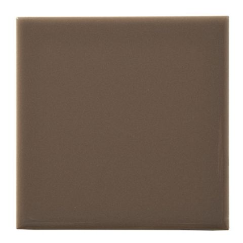Utopia Taupe Ceramic Wall Tile, Pack of 25, (L)100mm (W)100mm