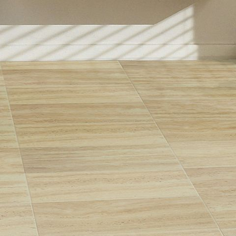 Leggiero Cream Travertine Tile Effect Laminate Flooring 1.72 m² Pack