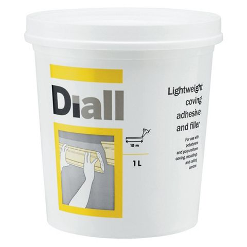 Diall Coving Adhesive & Filler, 1L