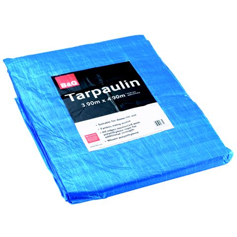 Light Duty Tarpaulin - 4.9m x 3.9m