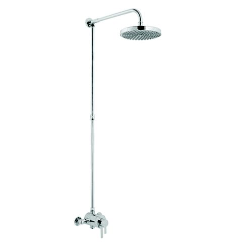 Cooke & Lewis PURITY Chrome Concentric Mixer Shower