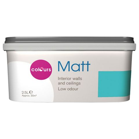 Colours Atoll Matt Emulsion Paint 2.5L