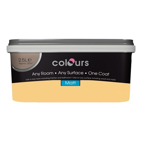 Colours Emulsion Paint Panama, 2.5L