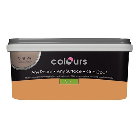 Colours Emulsion Paint Dijon, 2.5L