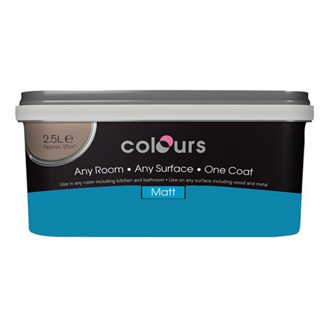 Colours Emulsion Paint Pacific, 2.5L