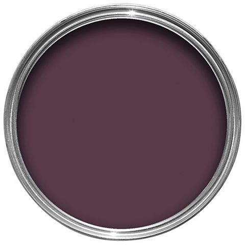 Colours Quick Dry Exterior Dark Plum Gloss Paint 750ml