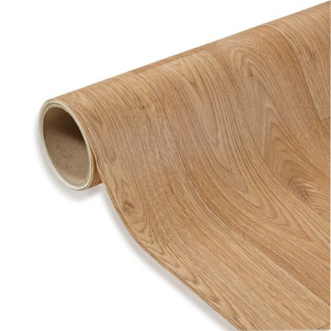 Colours Kade Oak Effect Vinyl 4m² Sheet
