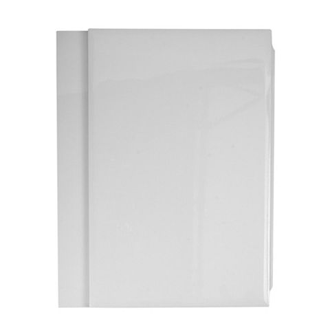 Cooke & Lewis Gloss White Bath End Panel (W)685mm