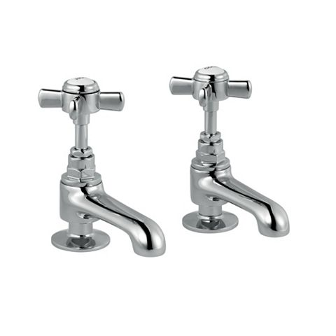 Cooke & Lewis Classic Hot & Cold Basin Pillar Tap