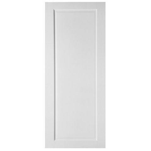 1 Panel Shaker Primed Internal Door, (H)1981mm (W)686mm