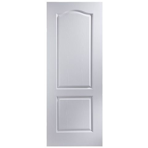 2 Panel Arched Primed Internal Door, (H)1981mm (W)762mm