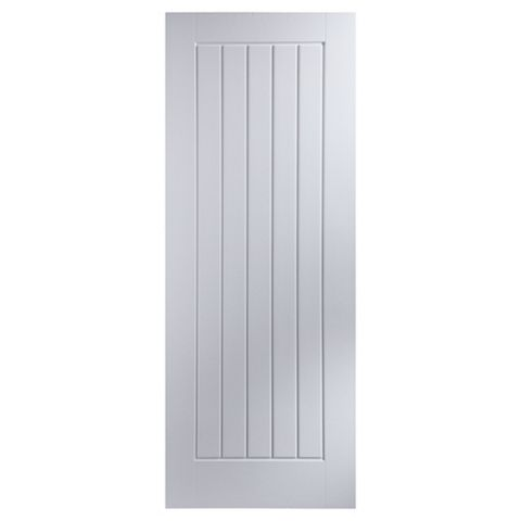 Cottage Panelled Primed Internal Door, (H)1981mm (W)686mm