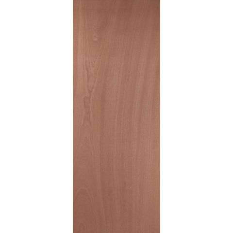 Flush Ply Veneer Internal Door, (H)2040mm (W)726mm