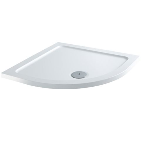 Cooke & Lewis Elements Quadrant Shower Tray