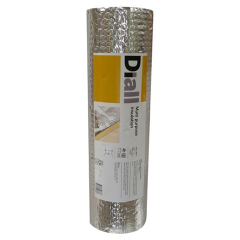 Diall Radiator Reflector Roll, (L)7.5m (W)600mm
