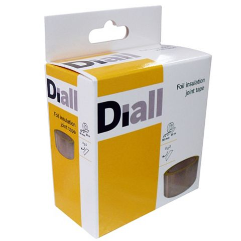 Diall Insulation Tape 50mm x 20m