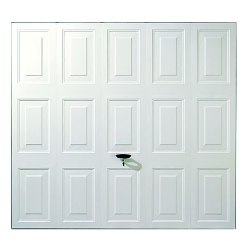 Alaska Framed Garage Door, (H)2134mm (W)2134mm