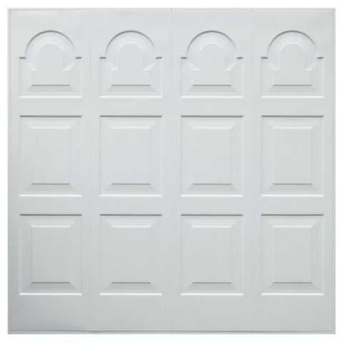 Michigan Framed Garage Door, (H)2134mm (W)2134mm