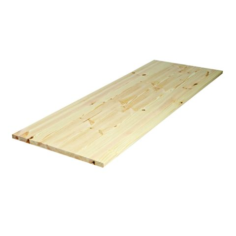 Diall Spruce Furniture Board (L)1150mm (W)300mm (T)18mm