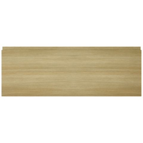IT Kitchens Marletti Horizontal Oak Effect Bridging Door / Pan Drawer Front (W)1000mm
