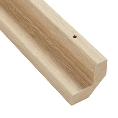 IT Kitchens Base Corner Post Oak Style (H)715mm (W)32mm