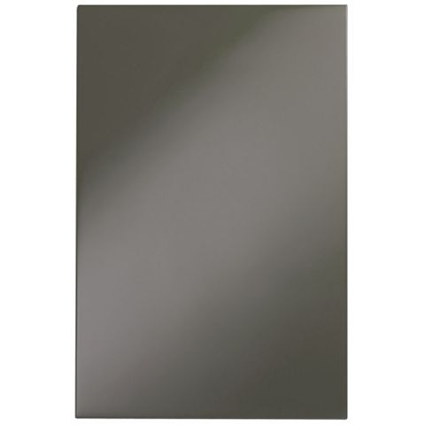 IT Kitchens Santini Gloss Anthracite Slab Base End Panel, 570 x 720mm