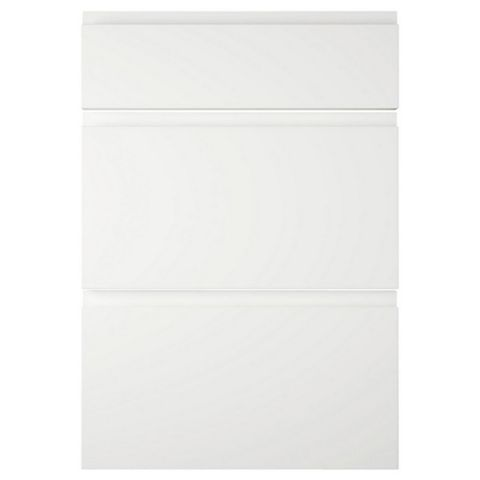 IT Kitchens Marletti White Gloss Drawer Front (W)500mm, Set of 3
