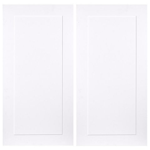 IT Kitchens Stonefield White Classic Style Corner Wall Door (W)625mm, Set of 2