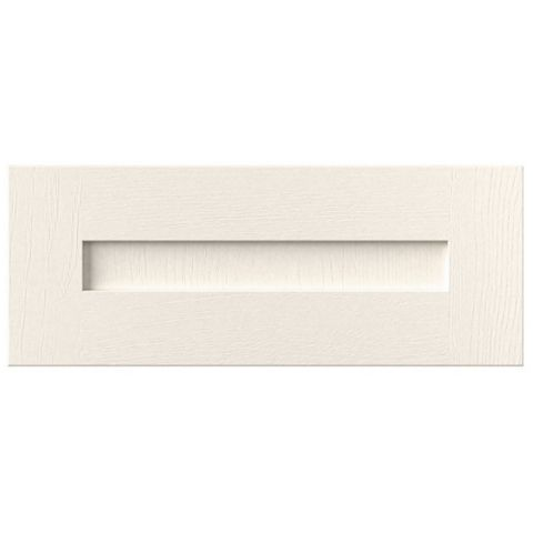 Cooke & Lewis Carisbrooke Ivory Bridging Door (W)600mm