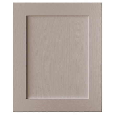 Cooke & Lewis Carisbrooke Taupe Integrated Appliance Door (W)600mm