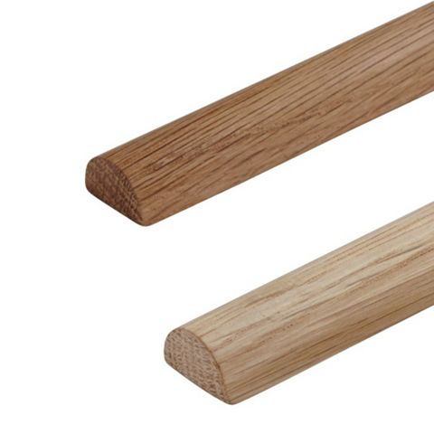 Diall Oak Window Board Ends, 13 x 275mm