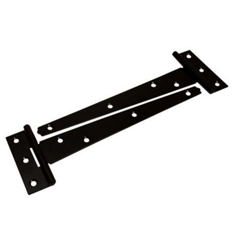 Black Steel Hinge, Pack of 2
