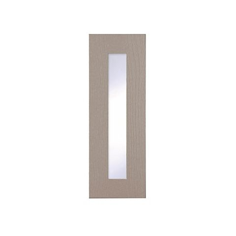 Cooke & Lewis Carisbrooke Taupe Tall Glazed Door (W)300mm