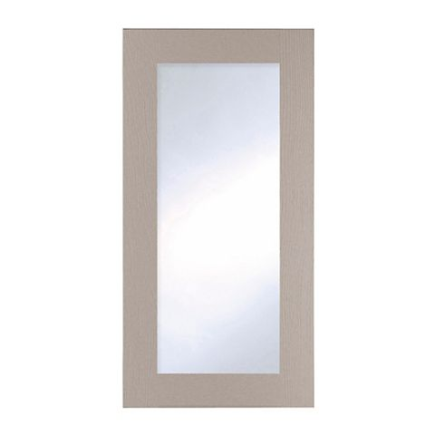 Cooke & Lewis Carisbrooke Taupe Tall Glazed Door (W)500mm