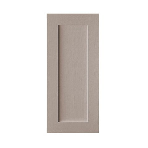 Cooke & Lewis Carisbrooke Taupe Tall Standard Door (W)400mm