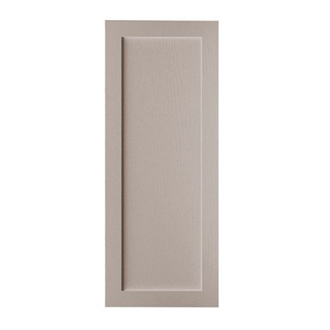Cooke & Lewis Carisbrooke Taupe Tall Fridge Freezer Door (W)600mm