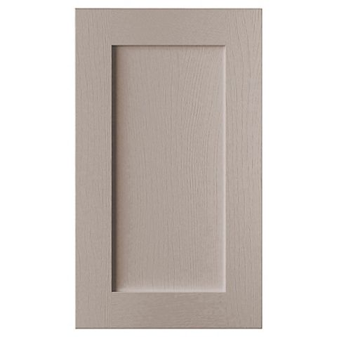 Cooke & Lewis Carisbrooke Taupe Tall Standard Door (W)450mm