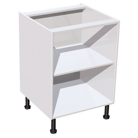 IT Kitchens White Multi-Drawer Base Carcass (W)600mm