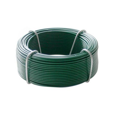 Gardman Plastic Coated Steel Garden Wire (L)30 M (D)1.2mm