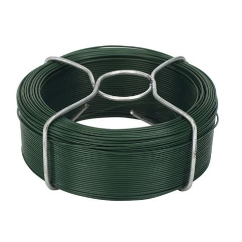 Gardman Plastic Coated Steel Garden Wire (L)100 M (D)1.2 mm