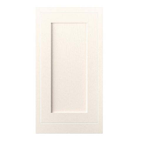 Cooke & Lewis Carisbrooke Ivory Framed Tall Standard Door (W)500mm
