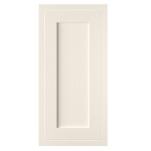 Cooke & Lewis Carisbrooke Ivory Framed Tall Standard Door (W)400mm